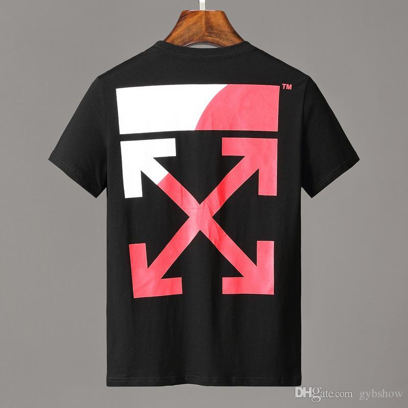 88eb8d64e09b Fashion OFF Men s Designers T Shirts Black White Men s Luxurys ...