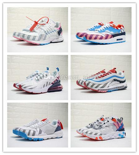 82b24a160f5b Piet Parra X Series Designer Shoes X Persto Maxes 1 270 SB Zoom Spiridon  White Multi Rainbow Men Sports Retro Sneakers Running Trainers Cheap Running  Shoes ...