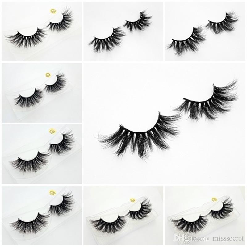 df5d51ecc40 5d Mink Eyelashes 25mm Lashes Dramatic 3D Mink Eyelashes False Eyelashes  Makeup Soft Eyelash Extension Long Fake Eye Lashes Novalash Eyebrow Tint  From ...
