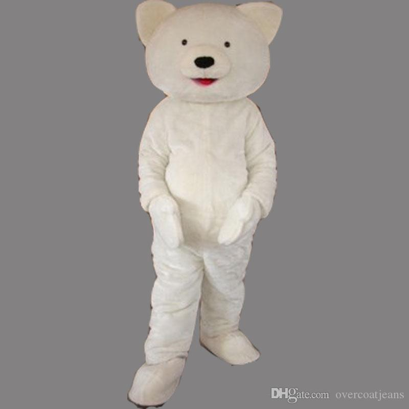 2019 High quality hot White Bear mascot custom Animal Bear fancy dress costume Shool Event Birthday Party Costume Mascot