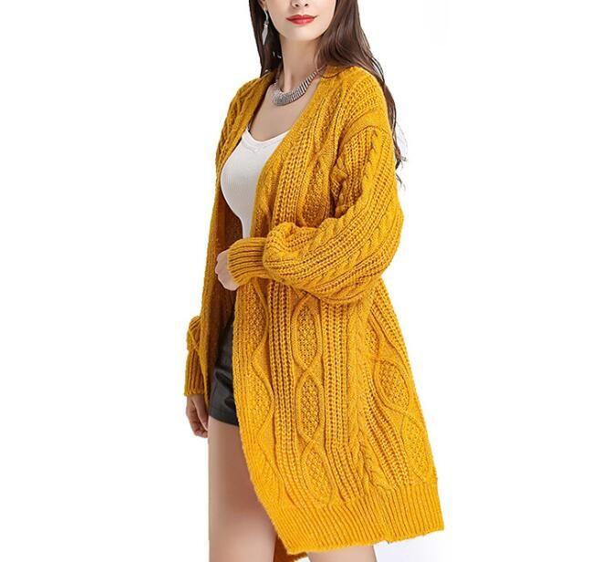 56dbc37b95 2019 Korean 2018 Autumn And Winter Women S Vintage Knitting Batwing Sleeve  Vintage Cardigans Harajuku Loose Mori Girl Jumper Long Top From Sincha