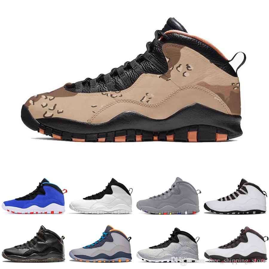 d48199c3513 10 10s mens basketball shoes Desert Camo TINKER Cement Class of 2006  Westbrook Cool Grey I'm back men designer sports sneakers size 8-13