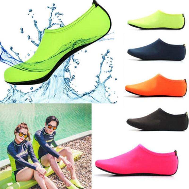 3a0226c3d32e Breathable Beach Upstream Water Sport Anti-skid Socks Underwater Swimming  Fins Snorkeling Diving Surfing Non-slip Shoes Quickdry Online with   3.07 Pair on ...