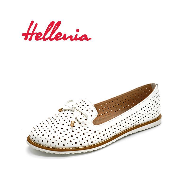 47fb68c411 Compre Zapatos De Vestir De Diseñador Hellenia Flat Mujer Pisos Damas  Vestido Zapatillas De Deporte Mocasines Blancos Resbalón En El Zapato  Informal Vestido ...
