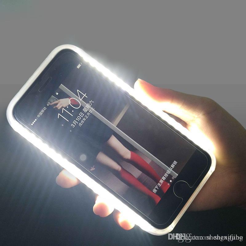 iphone 8 plus coque lumineuse