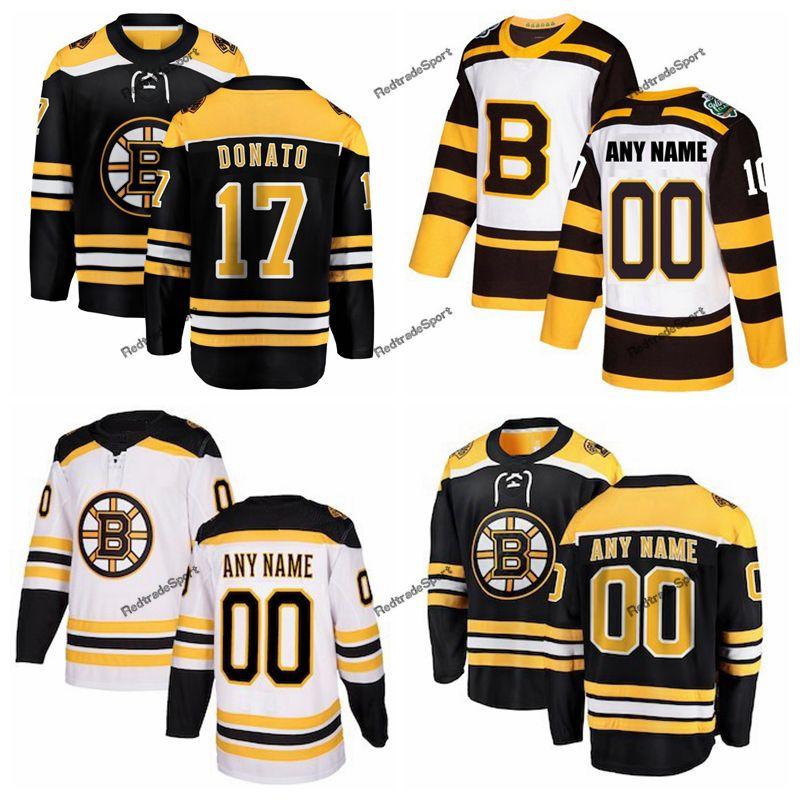 2019 2019 Winter Classic Boston Bruins Ryan Donato Hockey Jerseys Mens  17  Ryan Donato Black Stitched Shirts Custom Name Custom Number From  Redtradesport 4af308a5c