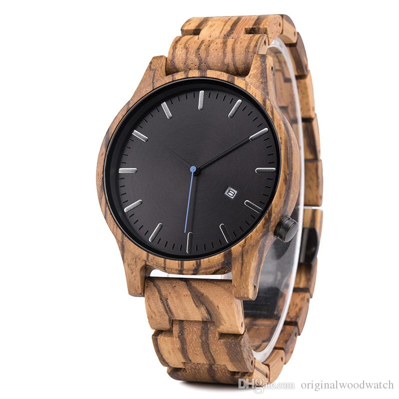 6c09204fc25 Compre Marca Original Relógios À Prova D  água Homens De Luxo Relógio De Pulso  Relógio Masculino Relógio De Negócios De Moda Dos Homens Zebra Relógio De  ...