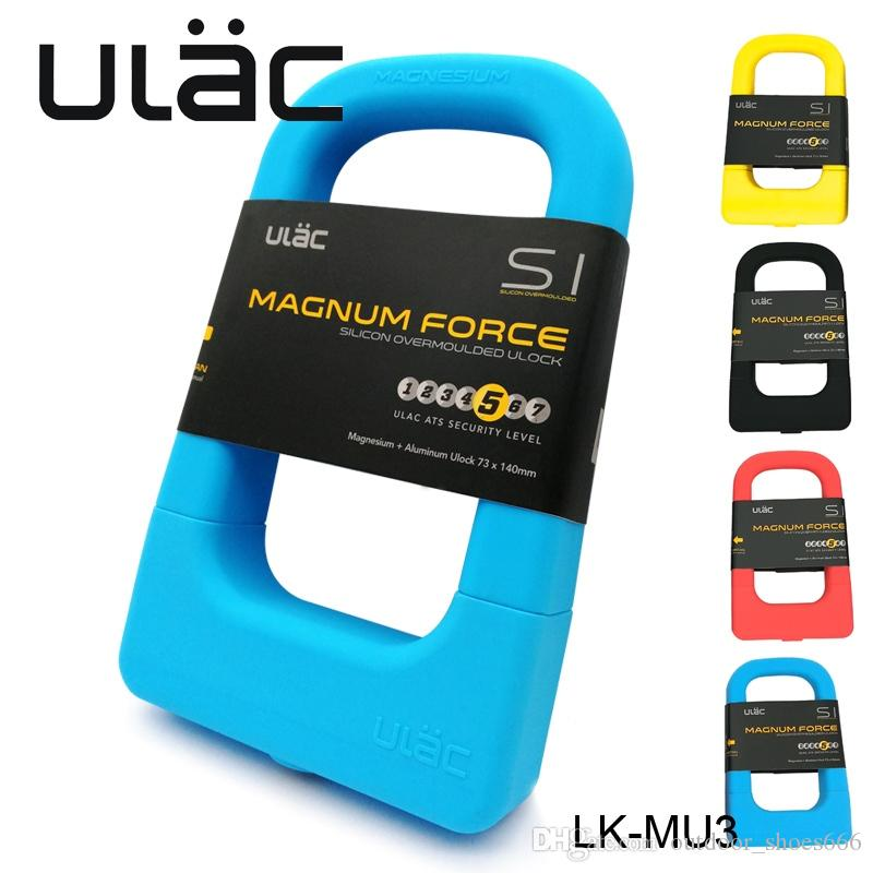 ULAC Bike U Lock bike lock Anti Theft Lock Bicycle Motorcycle Gates Fences Safety bike Holder Parts MU3 #81488