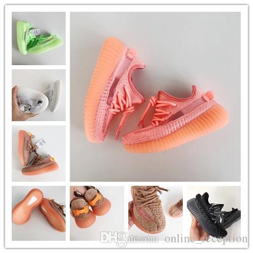 Adidas yeezy boot 350 Kinder West 350 Turnschuhe Baby Schuhe Laufsportschuhe Booties Kleinkind Schuhe billig Turnschuhe Training 989 Größe 28 35