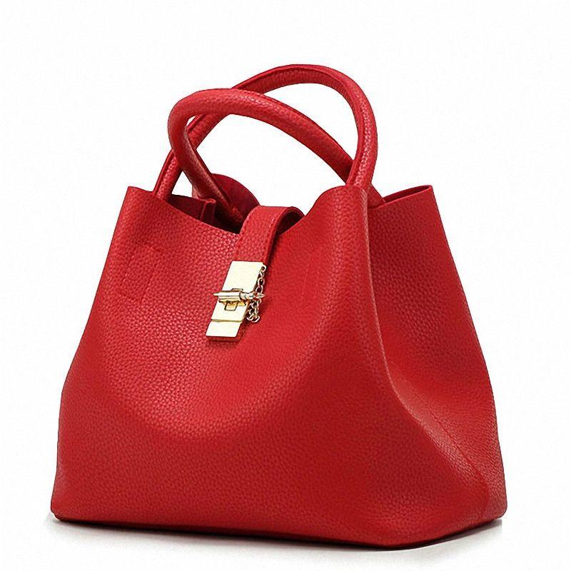 7b3f3181554 SWDF 2019 Vintage Women's Handbags Famous Fashion Brand Candy Shoulder Bags  Ladies Totes Simple Trapeze Women Messenger Bag