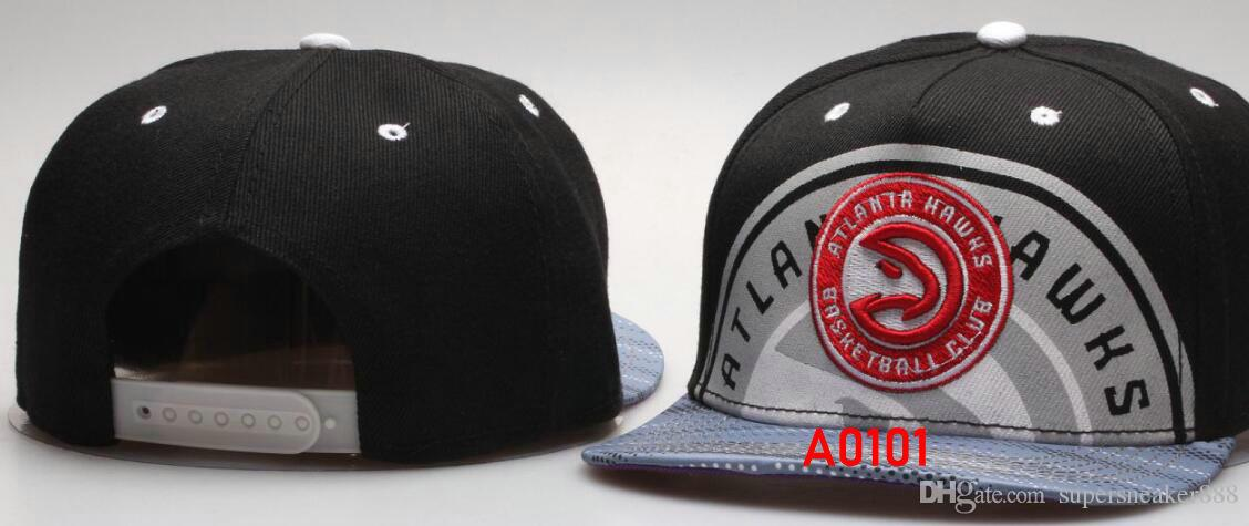 6b2be8e6 Cheap Atlanta hat ATL snapback Hats Baseball Cap Flat-brim Hat Team Size  Baseball Cap Classic Retro Fashion Drop Shipping 00