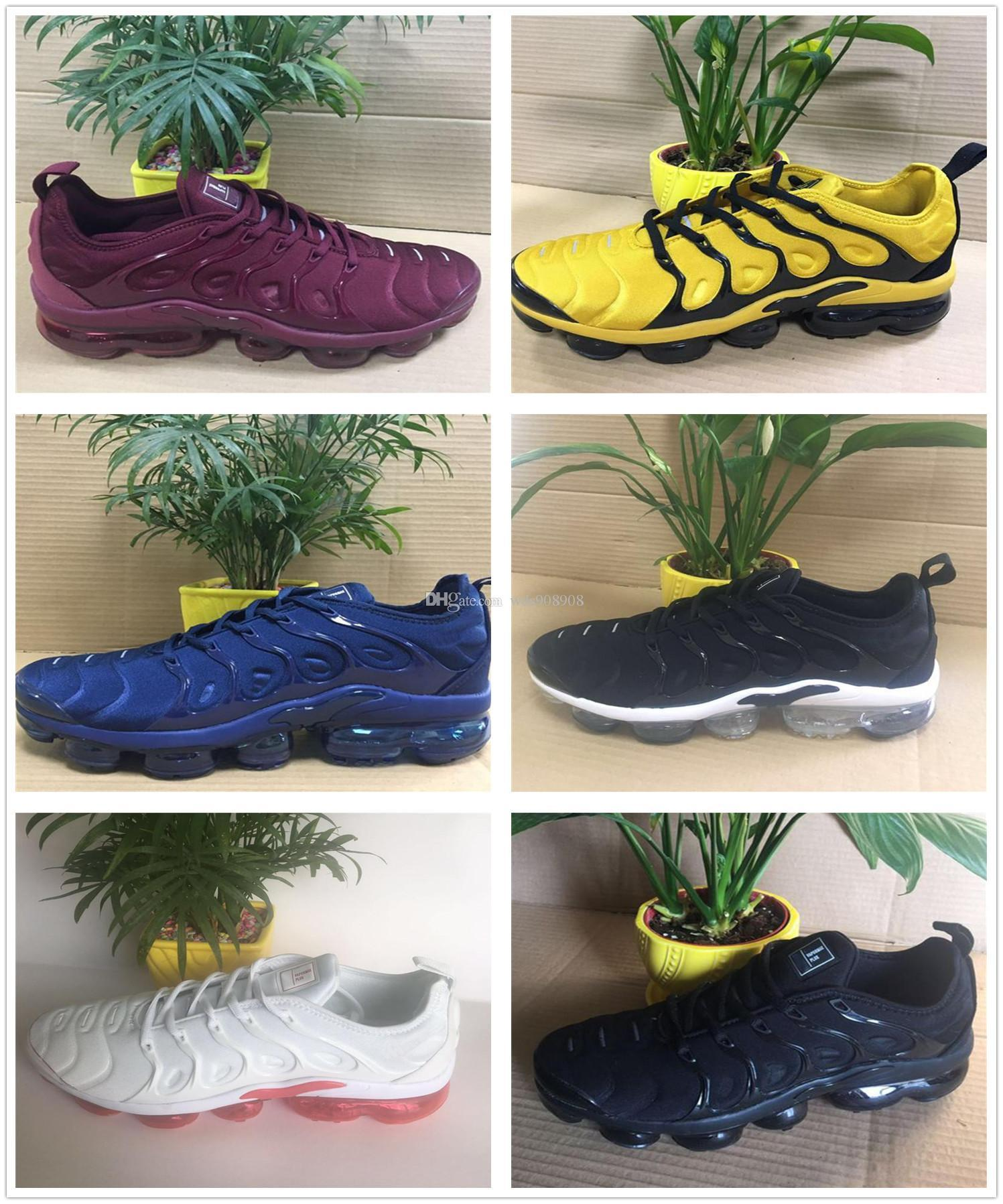 New TN Plus Olive In Metallic White Silver Colorways Shoes Men Shoes For  Male Shoe Pack Triple Black Men Shoes
