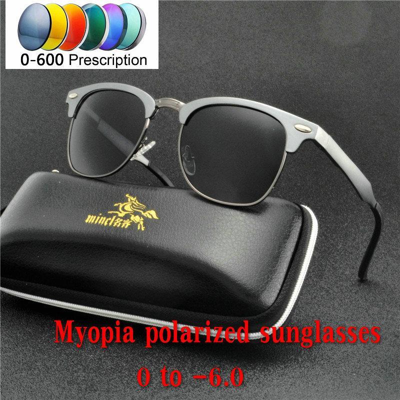 e779135623 Compre 2019 NUEVOS Hombres Mujeres Rectángulo Ligero Moda Que Conduce Las  Gafas De Sol Polarizadas Con Receta Para Miopía Lentes Progresivas UV400NX  A $20.7 ...