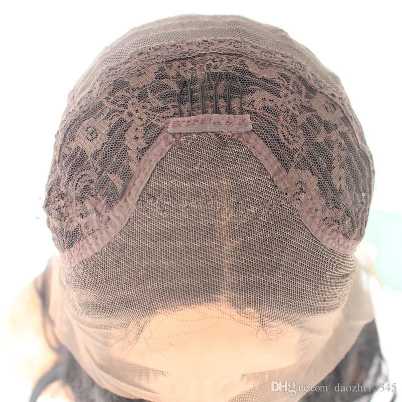 SHUOWEN مستقيم شقراء الاصطناعية الدانتيل الجبهة ريمي شعر مستعار محاكاة الشعر هيومن سوفت Lacefront الباروكات جودة عالية