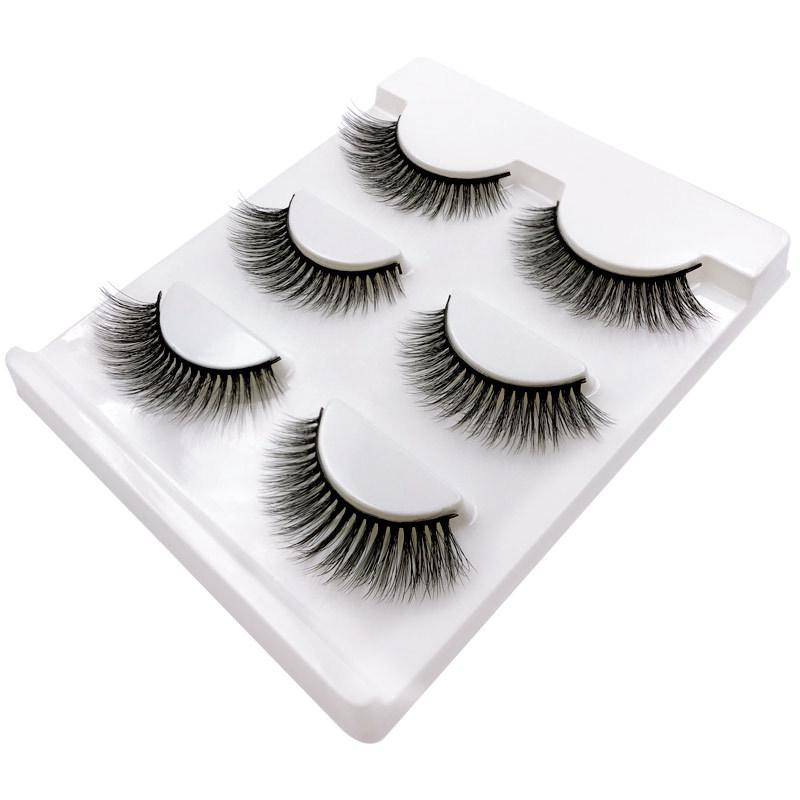 20106e933a0 3D Mink False Eyelashes Long Thick Dramatic Look Handmade Reusable Makeup  Fake Eyelash OA66 Xxl Lashes Eyelash Glue From Yangti, $36.65| DHgate.Com