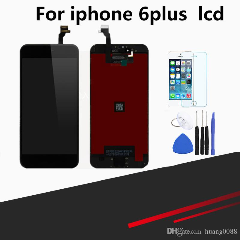 new arrival 236f2 ec016 Compatible for iPhone 6 Plus Screen Replacement 5.5 inch LCD Display  Digitizer Frame Assembly Full Repair Kit