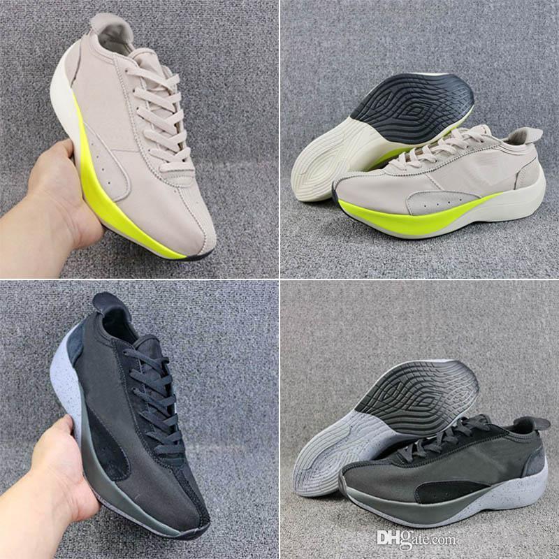 f399d6d28b448b 2018 New Release Moon Racer Running Shoes Mens Womens Foam Athletic ...