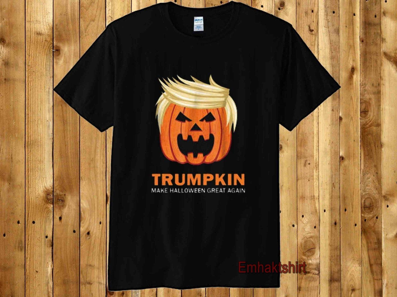 a7a90e2decd Halloween Trumpkin Funny Inspired T Shirt Make Halloween Great Again Costume  Fashion T Shirt Men S Short O Neck Fashion Printed Best T Shirts Sites  Quirky T ...