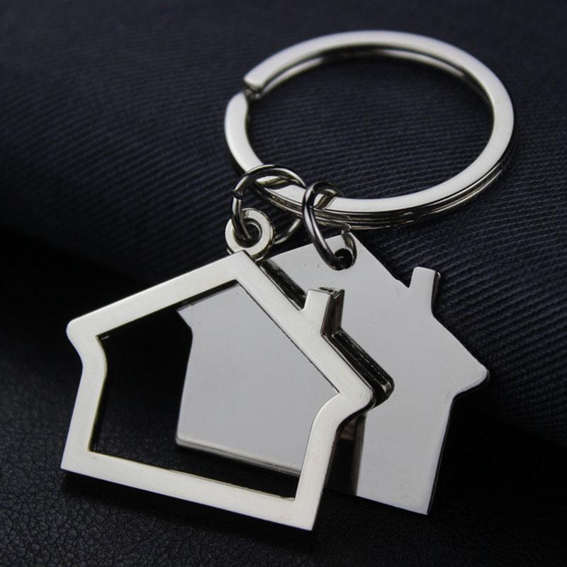 RE Custom House Home Men Women Gift Keychain Car Bag Customized Logo Keyring  Party Key Chain Wholesale M15 Retractable Key Chain Leather Key Chain From  ... aab2e987d
