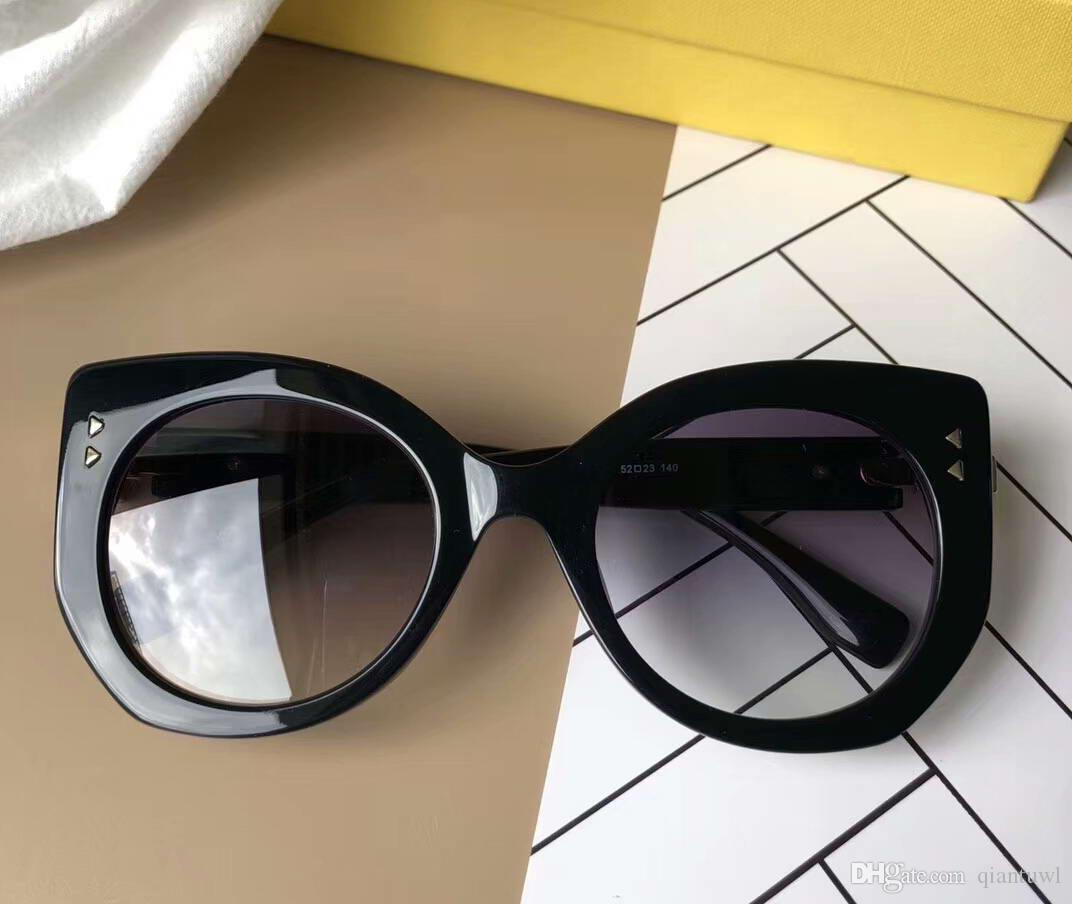 Women PEEKABOO 0265 s Sunglasses Gold Black Grey Luxury Brand ... 837105c204