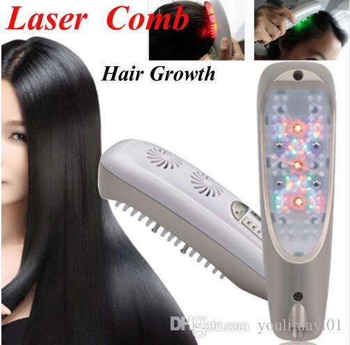 Hair Regrowth Laser Comb Micro Current for Hair Loss Alopecia Scalp Massage Remove Dandruff Thinning Hair Health Repair Growth