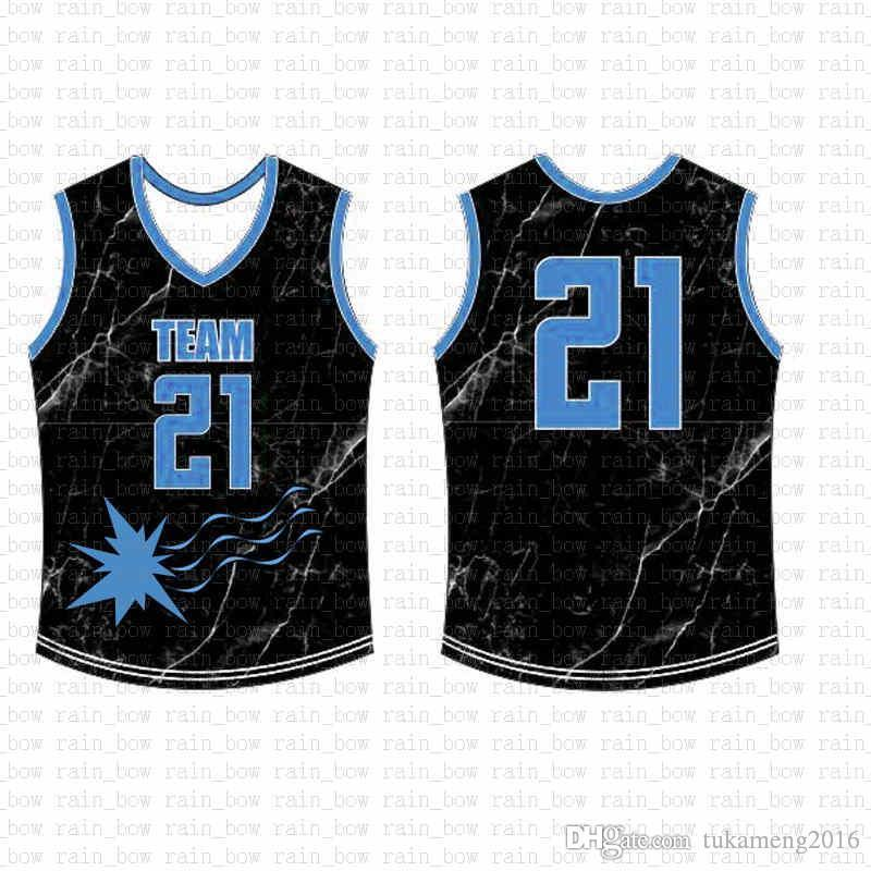 2019 New Custom Basketball Jersey High quality Mens free shipping Embroidery Logos 100% Stitched top sale A15457