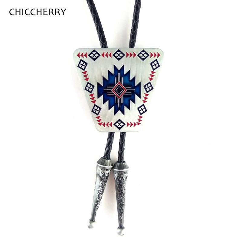 5405439ed743 Vintage Native American Indian Art Bolo Tie For Wedding Party Western  Cowboy Necktie Gravata Masculina Kravat Men Accessories Skinny Ties Red Tie  From ...
