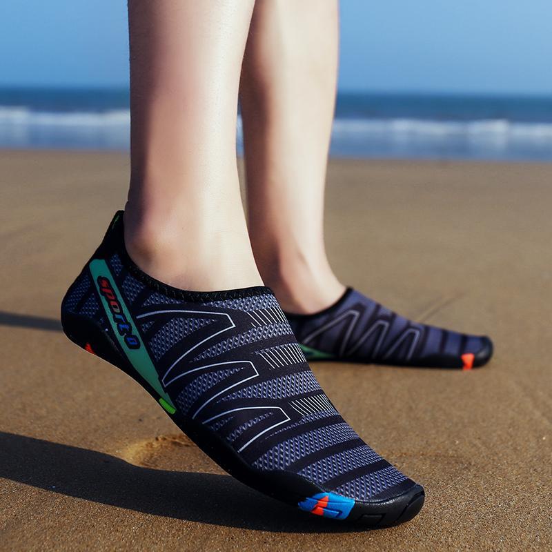 Calzado Aire Hombres Libre Unisex Zapatillas De Mujer Para Pesca Buceo Al Deporte Zapatos Nadar Los Agua Playa 43RL5Aqj