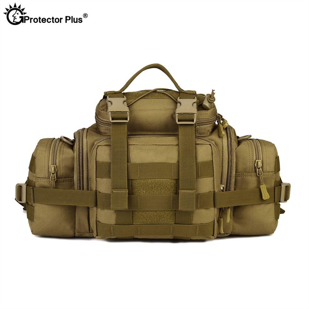 9259e66e36d8 2019 PROTECTOR PLUS Military Fans Waist Bag Tactical Outdoor Waterproof SLR  Cameras Crossbody Bag Travel Large Shoulder Messenger Bag #109179 From ...