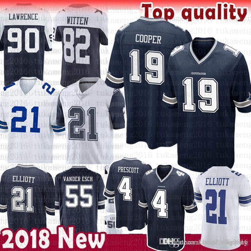 193f88fa8 authentic 2018 19 amari cooper dallas cowboys jersey 90 demarcus lawrence 4  dak prescott 21 ezekiel