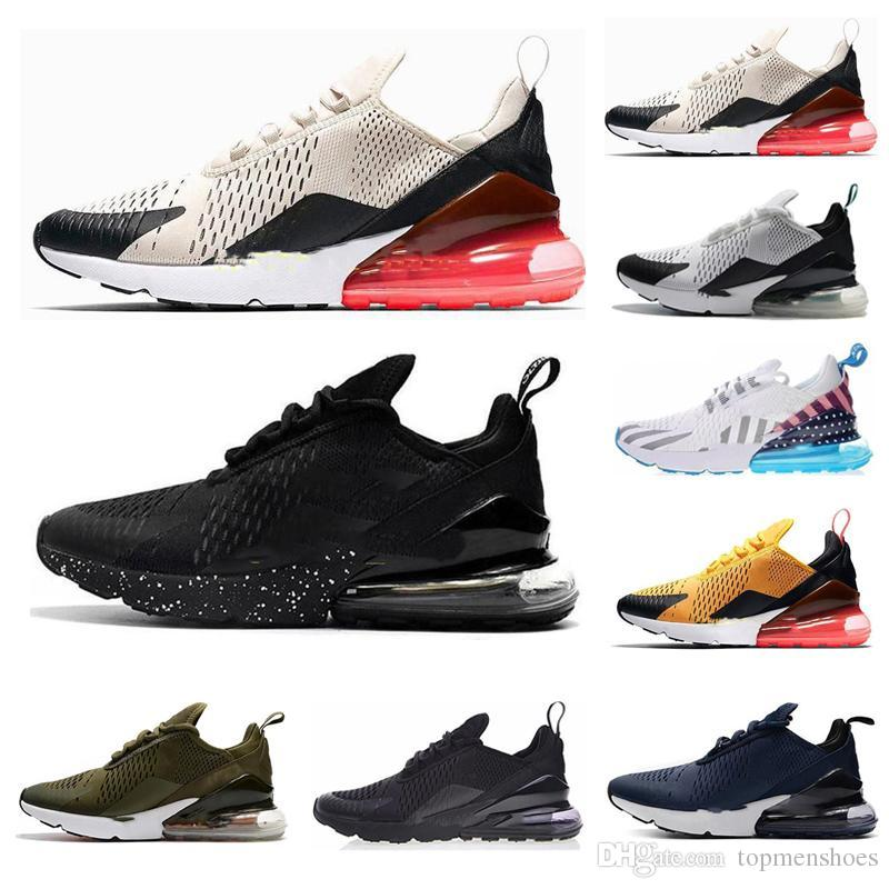 nike air max 270 27c airmax 2019 TN Cushion Sneakers Sports Designer Mens Running Shoes 27c Trainer Road Star BHM Hierro Mujer Zapatillas Tamaño 36 45