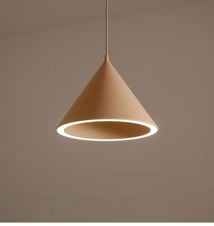 Nordic einzigen kopf led pendelleuchten kreative macaroon lampe restaurant  schlafzimmer abendessen lampe hängenden leuchten versandkostenfrei