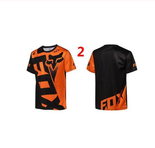 new fox head MX off-road shirt off-road motorcycle cycling clothing outdoor sports downhill clothing