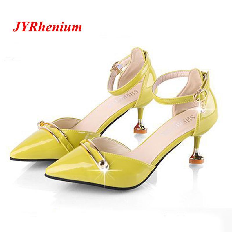 cf7bfe5c651 Shoes JYRhenium 2019 New Elegant Women Pumps High Heels Rhinestone Wedding  Pumps Brand Design Pointed Toe High Heels Plus Size Mens Dress Boots Men  Sandals ...