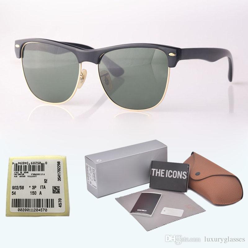 61a851ba1 Compre Marca De Alta Qualidade Óculos De Sol Das Mulheres Dos Homens ...