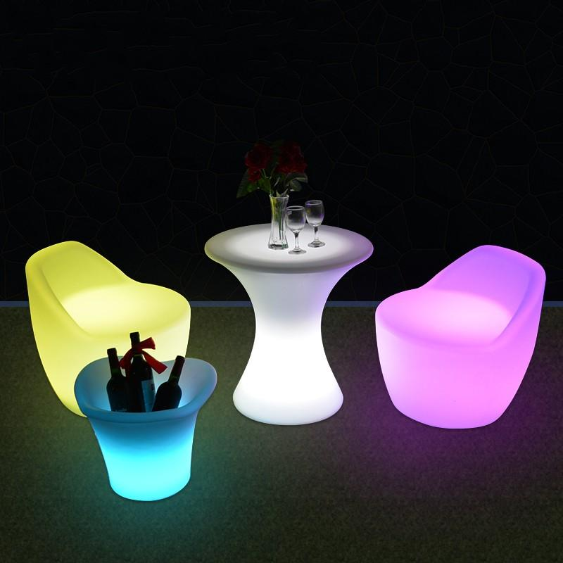 2019 New Led Furniture RGB Rechargeable Led Illuminated Gaming Chair  Waterproof Led Bar Chair Seat Outdoor Use For Bar KTV Disco From Lala2016,  ... - 2019 New Led Furniture RGB Rechargeable Led Illuminated Gaming Chair