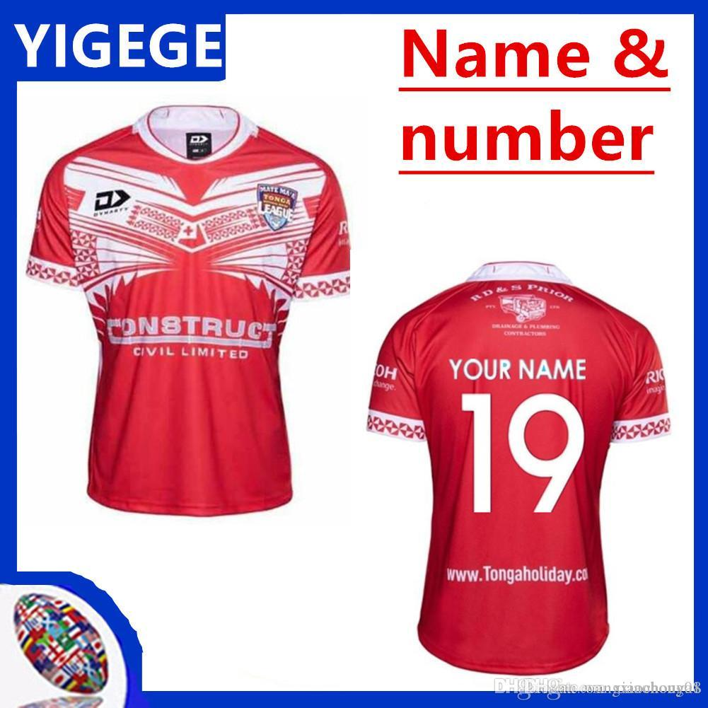size 40 70aab 5c000 TONGA 2019/2020 HOME REPLICA RUGBY LEAGUE JERSEY 2018 MATE MA A TONGA  JERSEY 2019 Tonga Rugby Jerseys Shirt rugby size S-3XL (can print