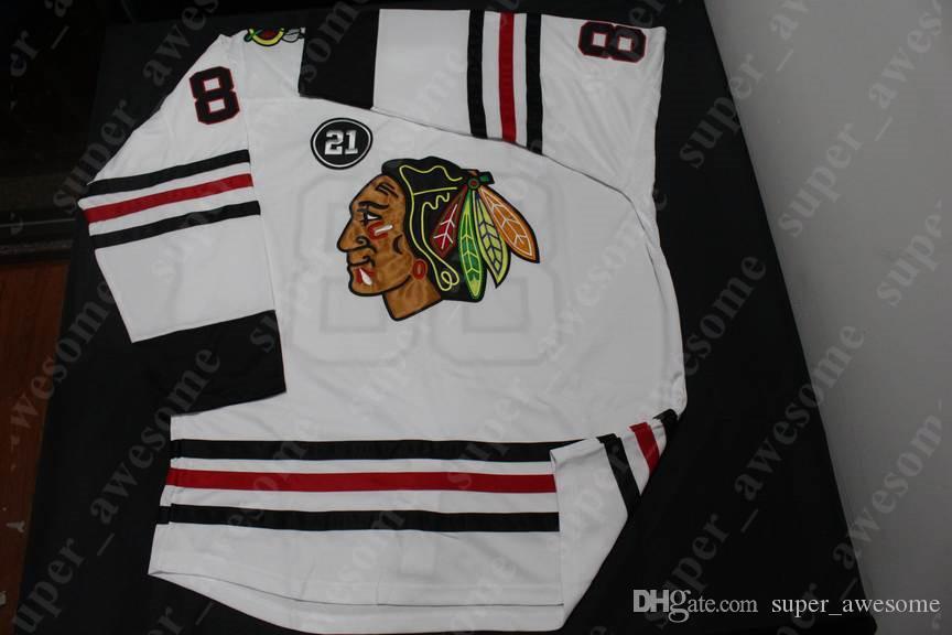 2020 Chicago Blackhawks Jersey Jonathan Toews Patrick Kane Corey Crawford Duncan Keith Alex DeBrincat Brandon Saad Home Away Hockey Jerseys