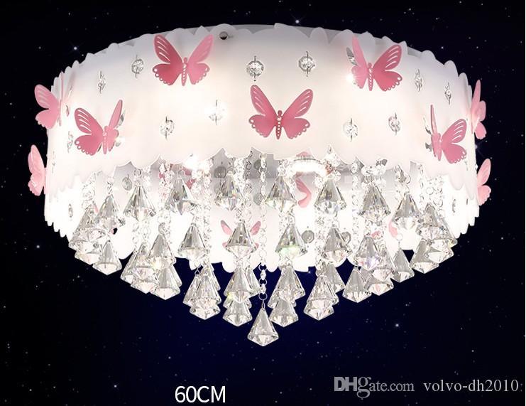 Acquista lampada da soffitto bambini in cristallo lampada da