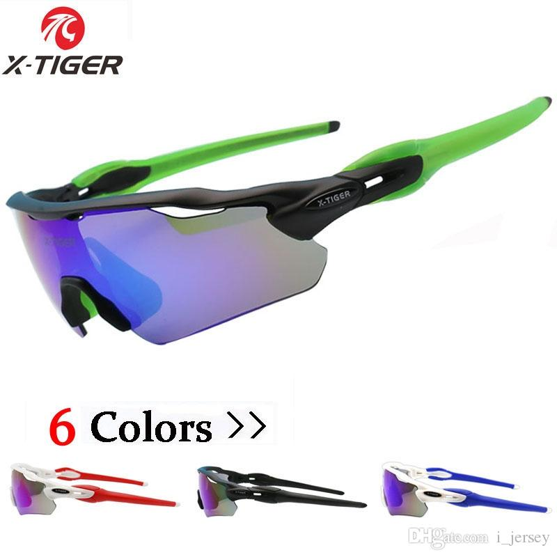 344266225c X-TIGER 2018 Ultralight 3 Lens Polarized Cycling SunGlasses With ...