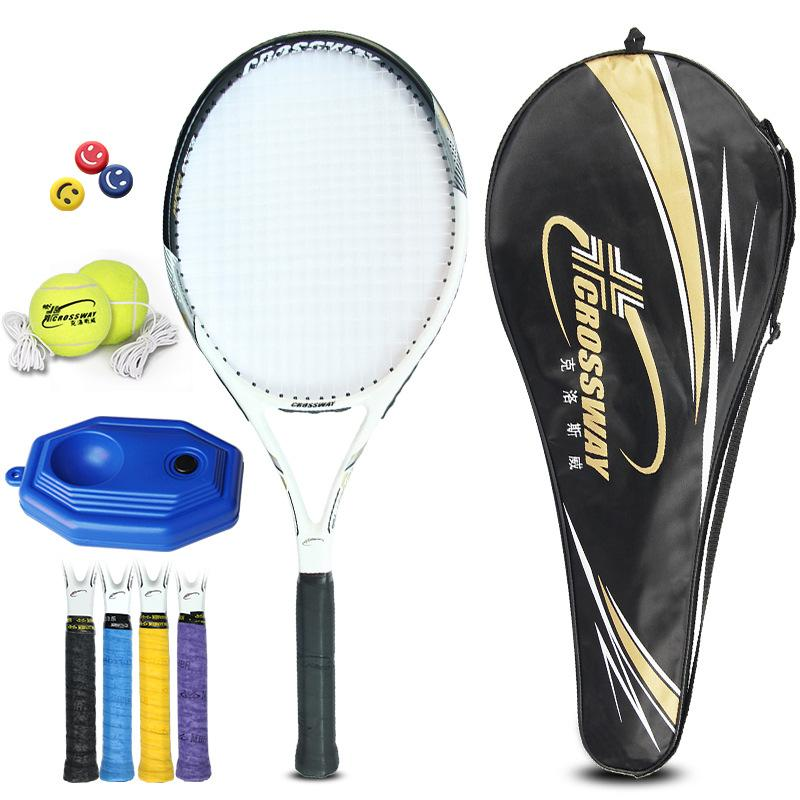 Tennis For Beginners >> 2019 Tennis Racket Composite Carbon Male And Female Beginners Sports