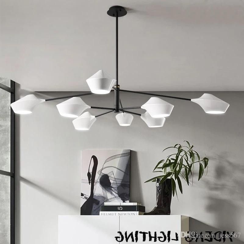 Lights & Lighting Ceiling Lights & Fans Modern Minimalist European Living Room American Nordic Ceiling Lamp Shell Bedroom Lamp Dining Table Study Lamp