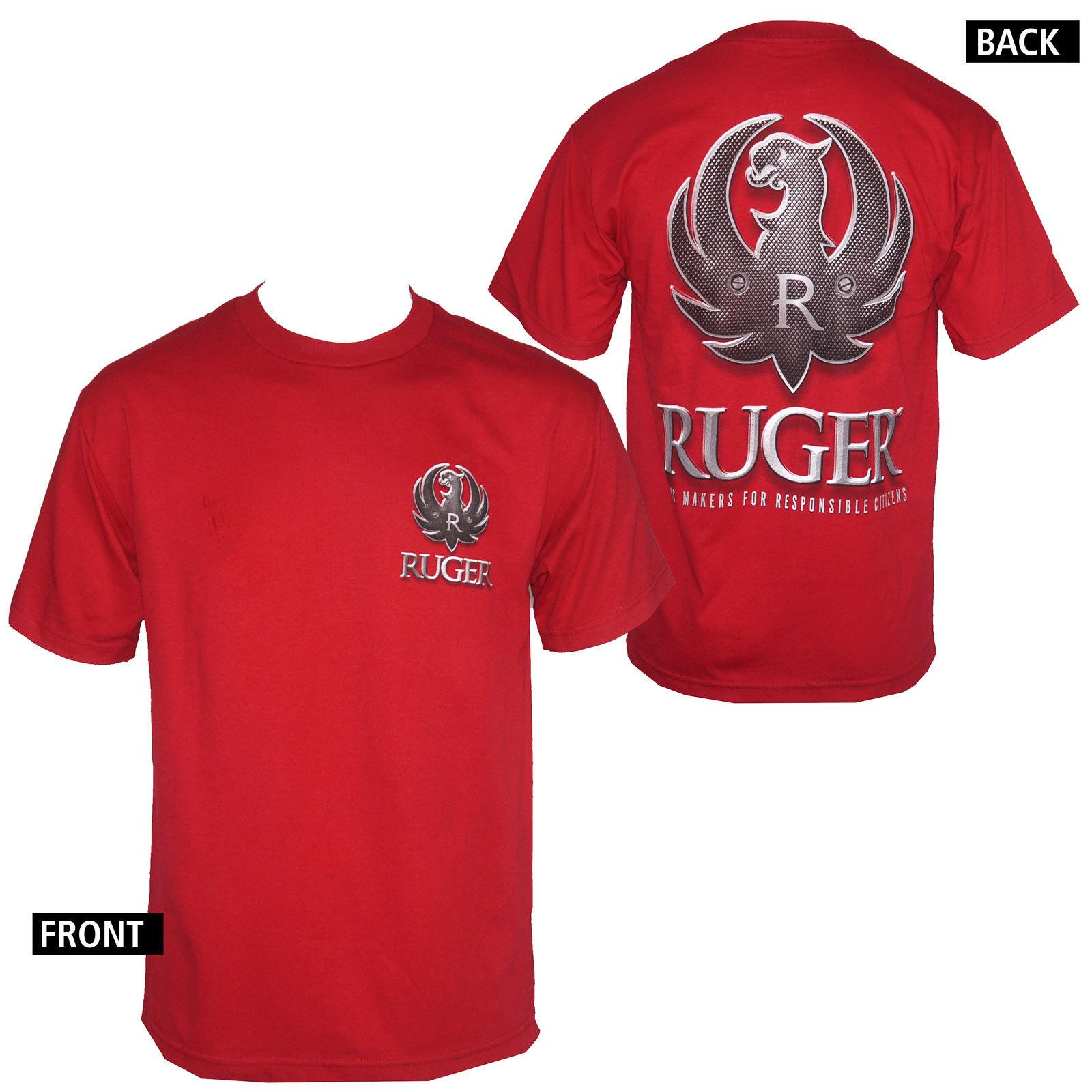 281c166b1 Licensed Ruger RGR Tactical Logo Arms Men S Cardinal T Shirt S 3XL NEW  Funny Gift Short