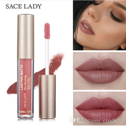 12 Colors Velvet Matte Lipstick Pencil Sexy Red Soft Cream Waterpoof Long Lasting Batom Matte Nude Lipstick Tattoo Mor009 Making Things Convenient For Customers Beauty Essentials Beauty & Health