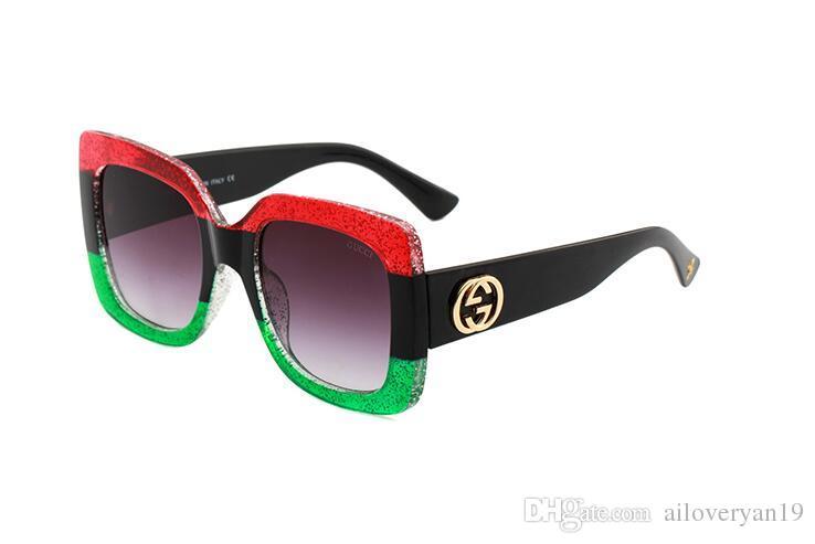 2294feb15c 2019 Luxury Women Popular Designer Sunglasses Square Summer Style ...