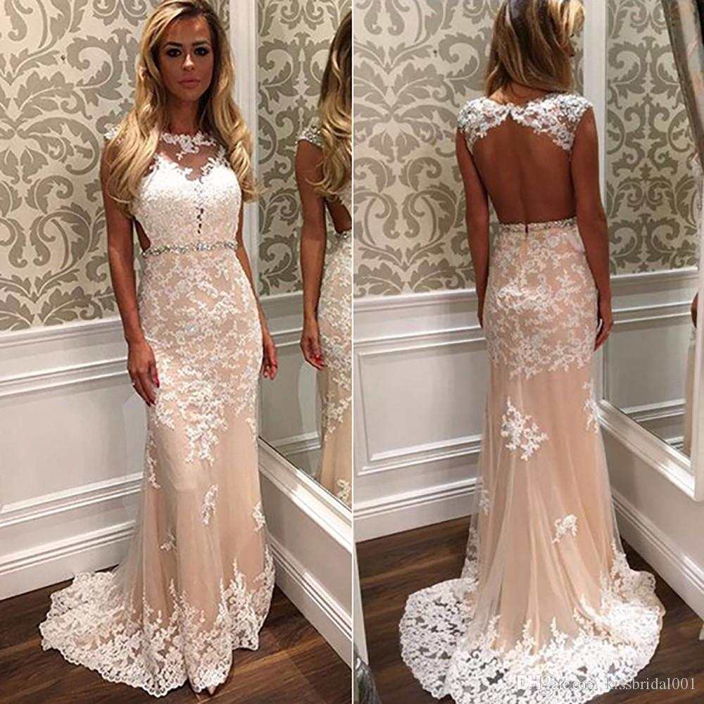 Lace Fitted prom dresses pictures best photo