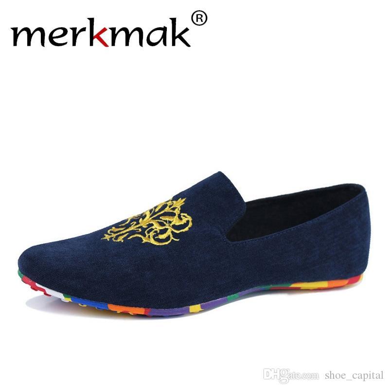 2b885bdbe2b1e Hot Sale Velvet Loafers Men Shoes Men'S Flats Male Slip On Driving Shoes  Large Size Soft Comfortable Designer Loafers Moccasins #55094 Shoe Boots  Fashion ...