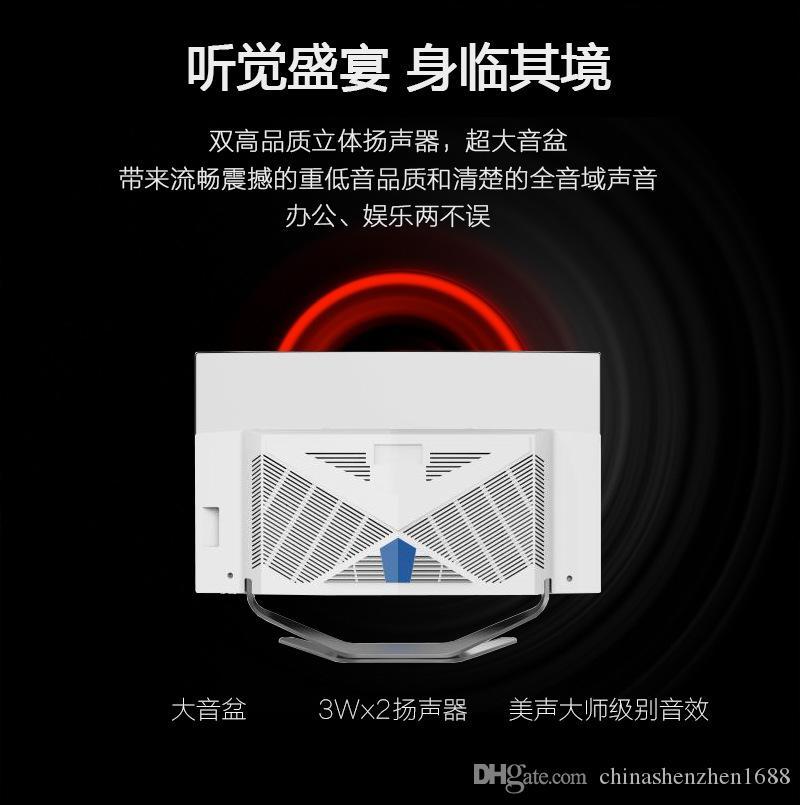 Оптовый ноутбук 19 27 дюймовый изогнутый экран все в одном компьютере I5 I7 ест курицу только для отображения офисного домашнего компьютера