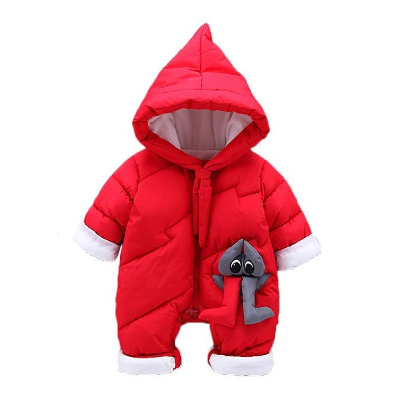 b82dbc85f Christmas Baby Winter Overalls Costume For Girls Jumpsuit For ...