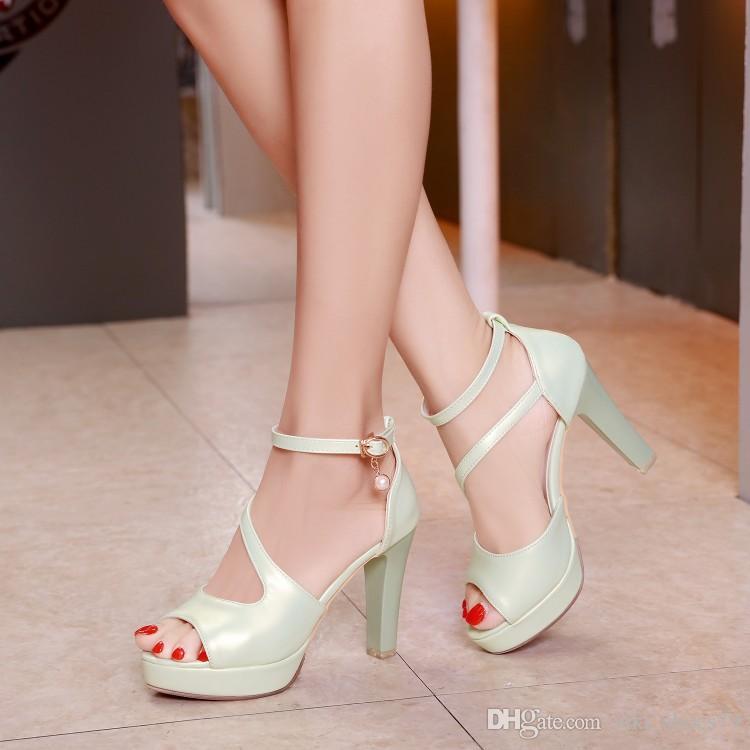 c161c7166 Professional OEM Unique Design Summer New Design Women Platform Sandals  Ladies High Heel Shoes Fashion Fish Mouth Sandal Buy Shoes Online Wedge  Boots From ...